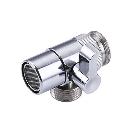 Weirun Brass Diverter For Kitchen Or Bathroom Sink Faucet