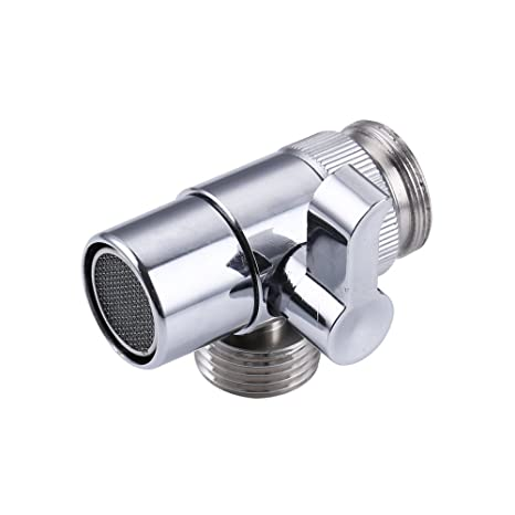 Miraculous Weirun Brass Diverter For Kitchen Or Bathroom Sink Faucet Replacement Part M22 X M24 Connector For Handheld Bidet Hand Sprayer Polished Chrome Download Free Architecture Designs Barepgrimeyleaguecom