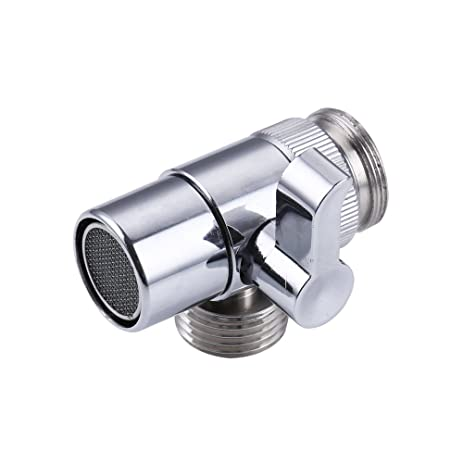 7Trees Brass Sink Valve Diverter Kitchen Bathroom Sink Faucet Replacement  Part Faucet To Hose Adapter Splitter