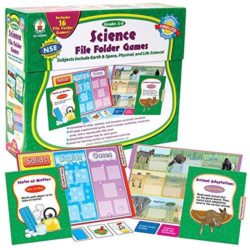 Games Science File Folder Skill