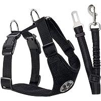 Cinturón de Seguridad para Perros FANDE, Cinturón de Seguridad para el Automóvil para Mascotas, cCorrea Ajustable para…