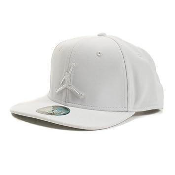 Nike Jordan Jumpman Snapback Gorra de Tenis, Unisex Adulto, Summit Blanco, Talla Única