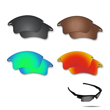 b7c0505e66 Image Unavailable. Image not available for. Color  Fiskr Anti-saltwater  Polarized Replacement Lenses for Oakley Fast ...