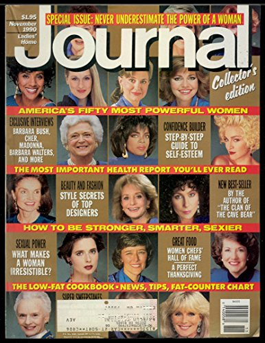 Ladies Home Journal, November 1990 - Special Issue: Never Underestimate The Power Of A Woman