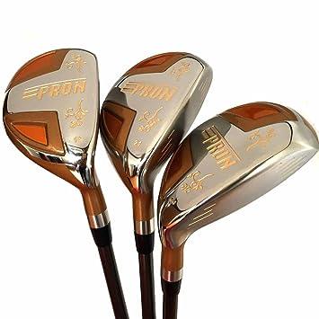 Japón epron TR Oro hybrids Club de Golf Madera Set + Funda ...