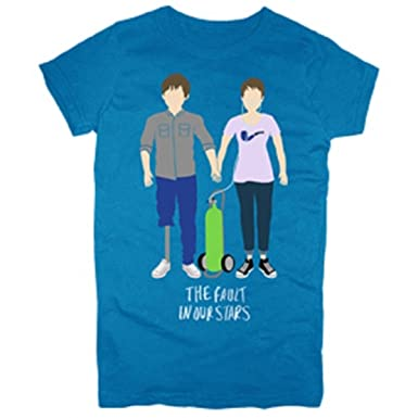 The Fault In Our Stars Merchandise : Augustus & Hazel Drawing Girls T-Shirt