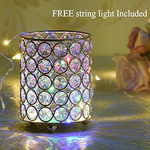 Crystal Beaded Led Light
