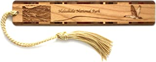 product image for Personalized Haleakala National Park, Hawaii Engraved Wooden Bookmark with Tassel