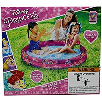 Amazon Com Disney Princess 37 5 Inch Round 2 Ring