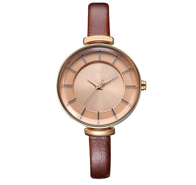 Reloj de mujer reloj de moda mujer estudiante correa delgada impermeable reloj de cuarzo informal