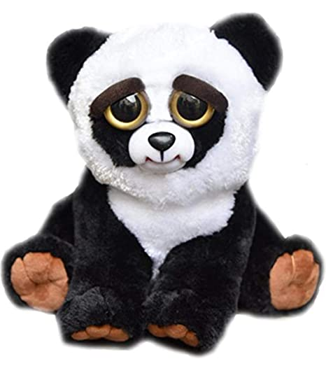 Amazon Com Feisty Pets Black Belt Bobby Plush Stuffed Panda That