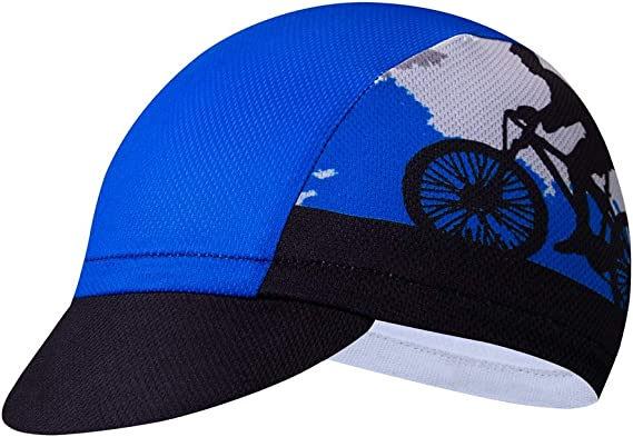 Cycling Cloth Cap Unisex Bike Helmet Hat Polyester Headwear
