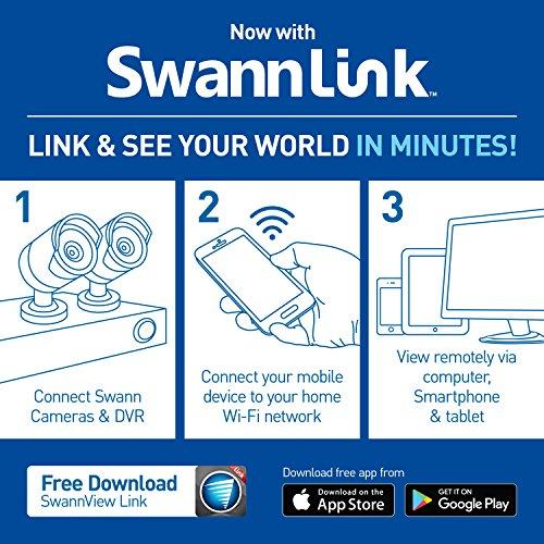 Swann FULL HD (1920 x 1080) Security System, 8Ch 2TB DVR with