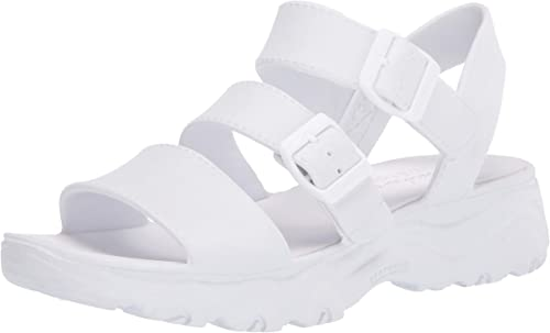 Skechers D'Lites, Sandales Bride Cheville Femme: