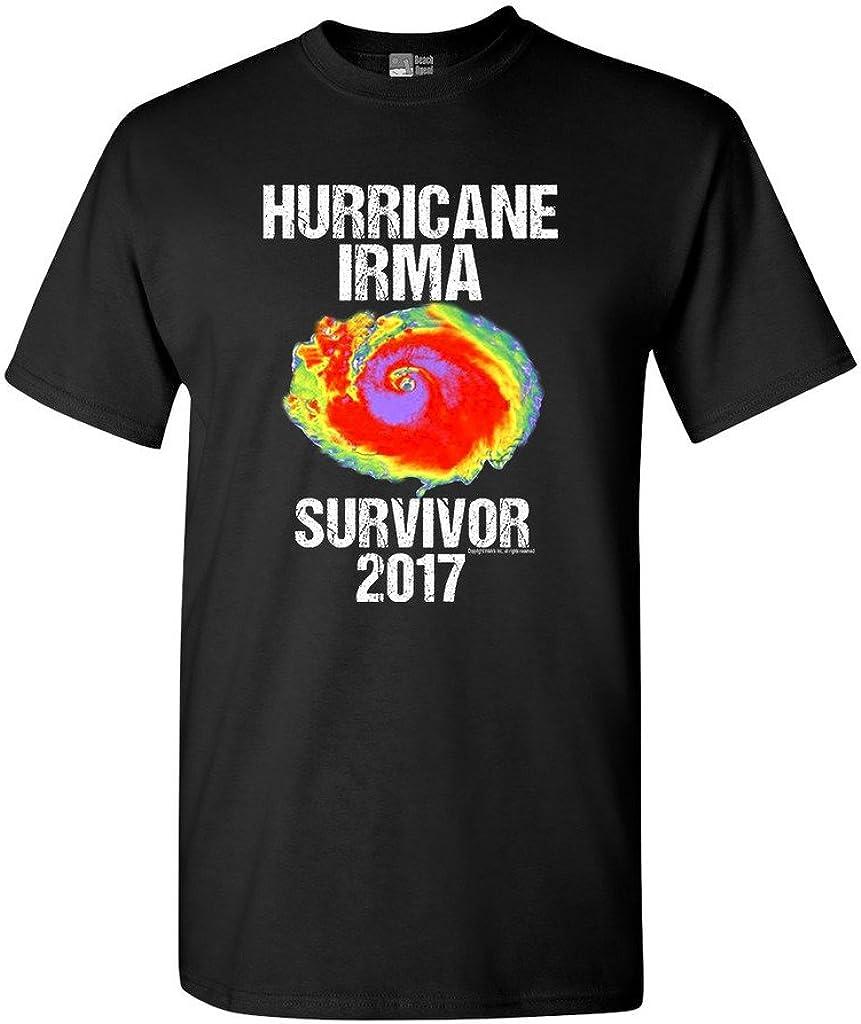 Hurricane Irma Survivor 2017 DT Adult T-Shirt Tee