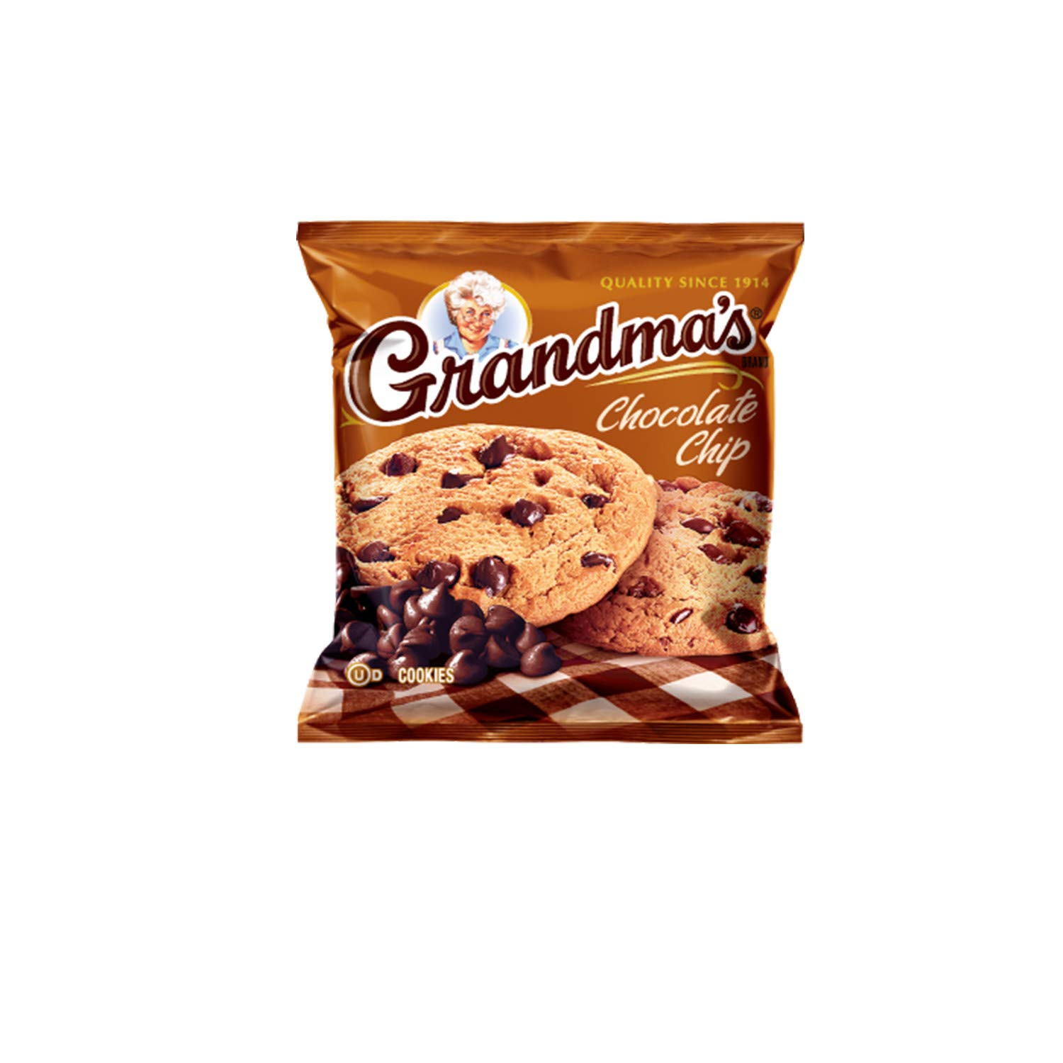 Grandma\'s Cookies Variety Pack Includes Chocolate Brownie, Chocolate Chip, Oatmeal Raisin & Peanut Butter (40 Count)