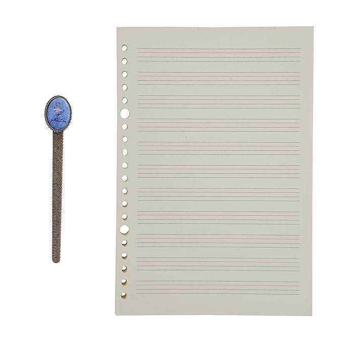 Amazon.com: B5 Recambio de papel de hoja suelta de papel de ...