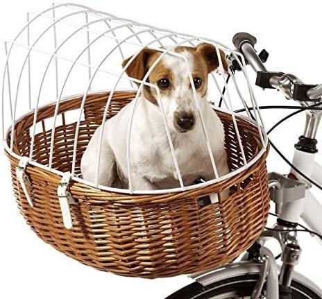 Aumüller Cesta de bicicleta para perros y mascotas de alambre de ...