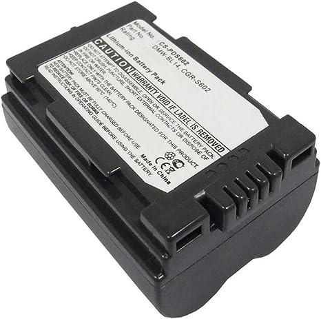 Amsahr Grade A Cell Battery For Panasonic Grey Camera Photo