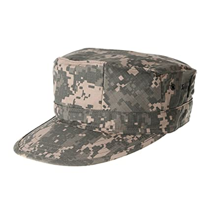 Amazon.com   Camouflage Mens Military Octagon Hat Army Ranger ... beea3b33f04