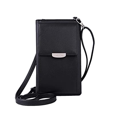 3dbf9852b1 Fashion Wallet Women Mini Crossbody Bag Cell phone Pouch Small Handbag Card  Holder Coin Purse Girls