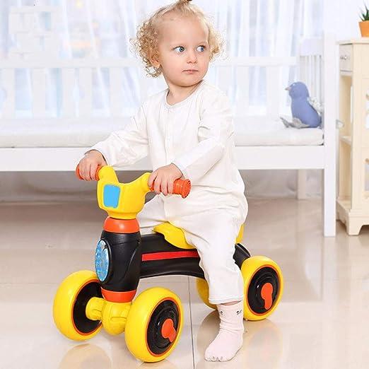 YANWE Andador Deslizante Baby Balance De Cuatro Ruedas, Cuerpo De ...