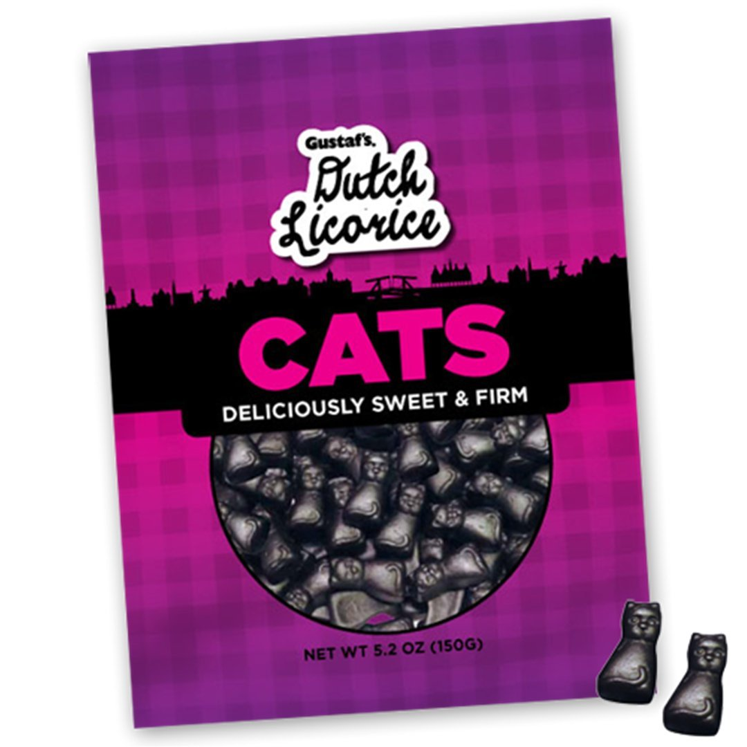 Halloween Cat Licorice Candy