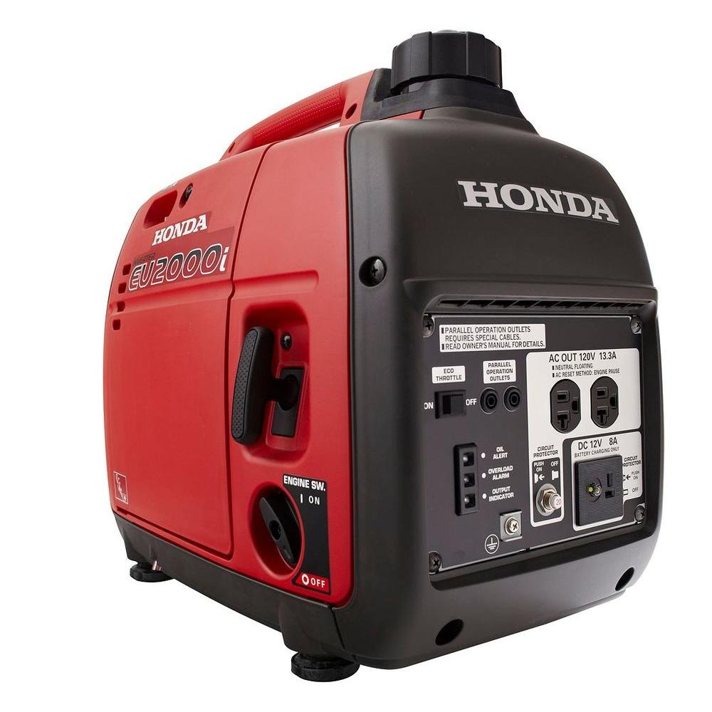 Amazon.com : Honda EU2000I 2000 Watt Portable Generator with Inverter :  Garden & Outdoor