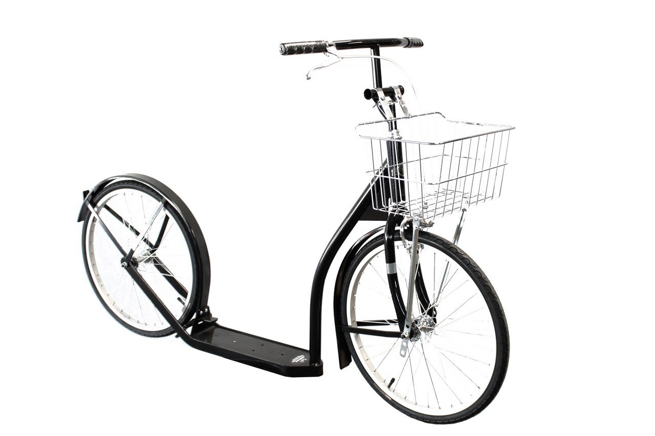 Amish-Made Deluxe Kick Scooter Bike - 20' Wheel (Youth/Adult Size)