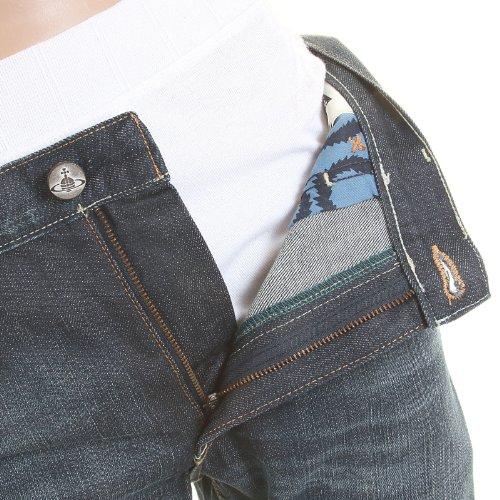 Vivienne Westwood Herren Jeanshose blau blau