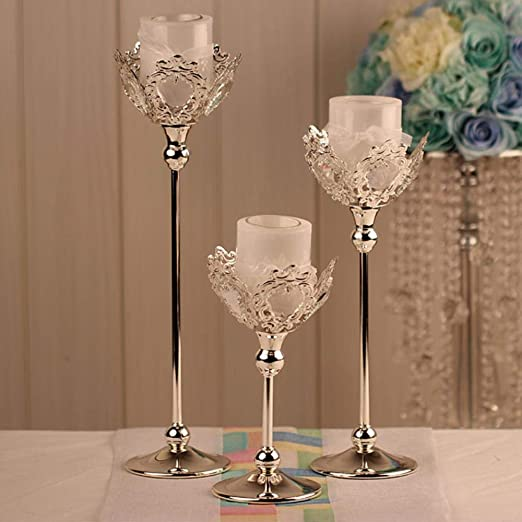 YAOJII Fashion Wedding Candles Holder Boda Centro de Mesa ...