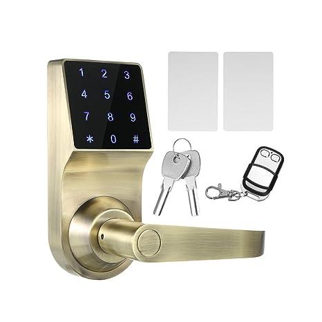 decdeal 4-en-1 electrónicos cerradura de la puerta sin llave Código de la