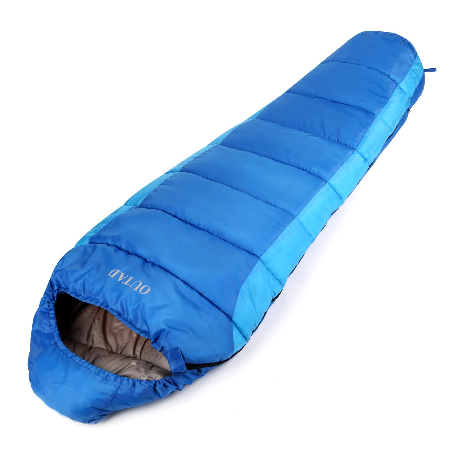 OUTAD Outdoor Mummy 40-50 Degree Portable Sleeping Bag for Camping Hiking Backpacking