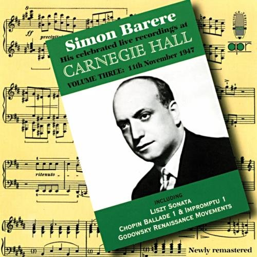 His Celebrated Live Recordings at Carnegie Hall-Vo by Apr Uk (Image #2)