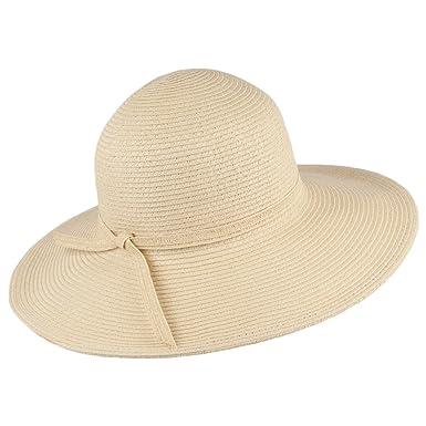 23062423 sur la Tete Brighton Sun Hat - Natural 1-Size: Amazon.co.uk: Clothing
