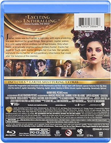 Amazon.com: Jupiter Ascending (Blu-ray): Channing Tatum, Mila ...