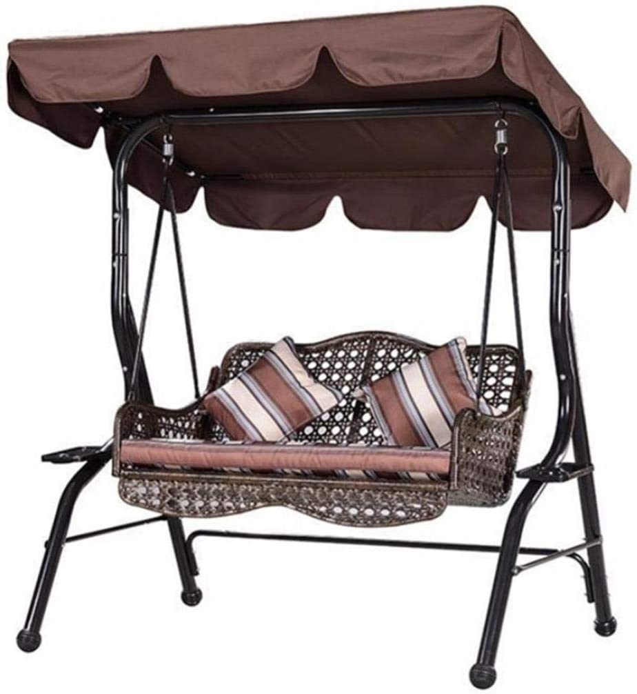 Iannan Outdoor Courtyard Swing Canopy Ceiling Cover Sun Shelters