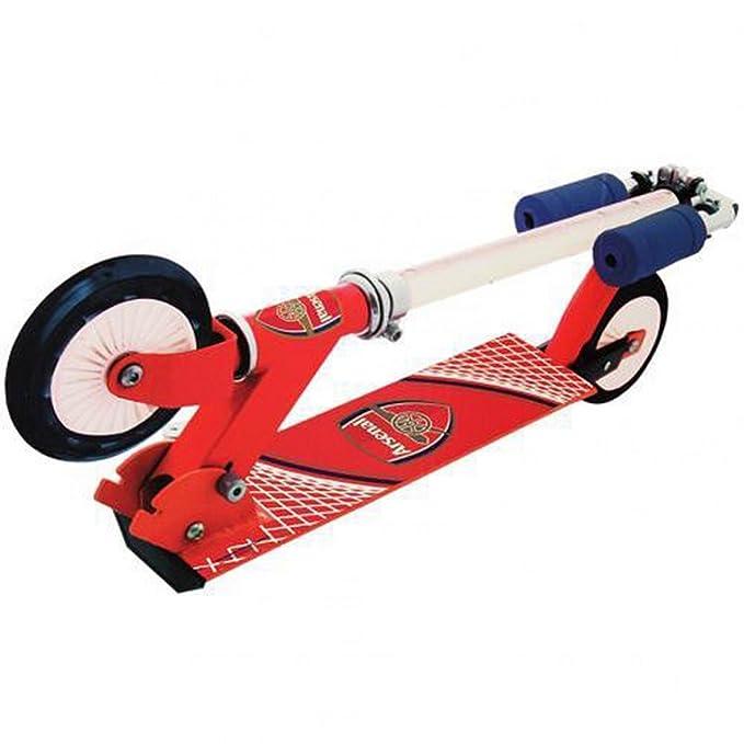 Amazon.com: Arsenal FC patinete Scooter plegable, talla ...