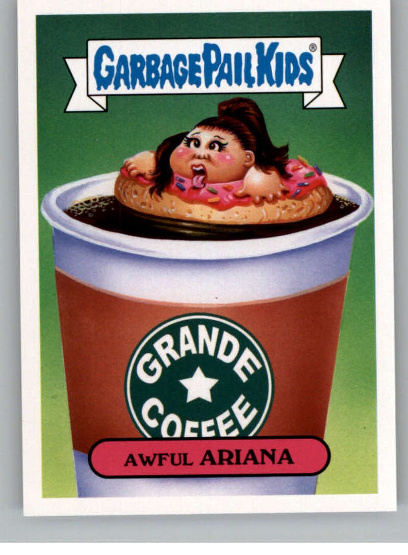 2017 Topps Garbage Pail Kids Series 2 Pop #18A AWFUL ARIANA