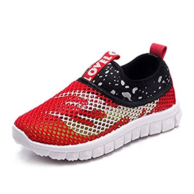 online store 5d6a5 b2f05 Children Trainers Breathable Mesh Slip On Outdoor Walking Water Shoes Boys  Girls Sneaker Sandals Pool Beach