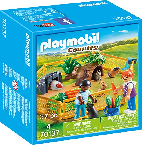 (PLAYMOBIL® Country 70137 Outdoor Enclosure for Small Animals Colourful)