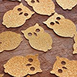 "Confetti Momma's ""Owl Confetti"" is perfect for a woodland themed birthday party or baby shower. Use it to stuff your birthday invitations, decorate tables, embellish presents, or throw it in the air."