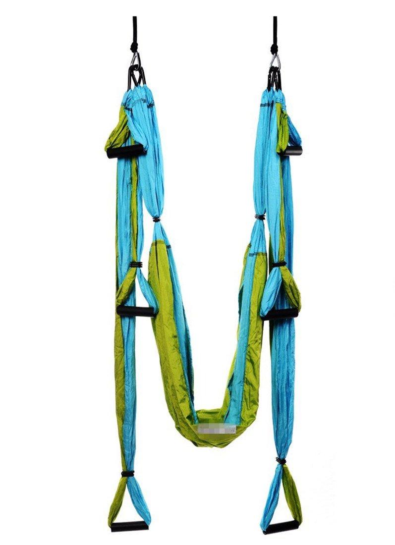 Amazon.com: Ranbo Yoga Inversion Swing - Trapecio aéreo ...