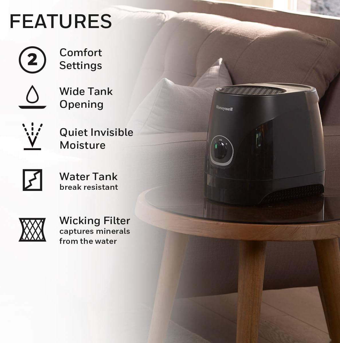 Honeywell Cool Moisture Humidifier Black