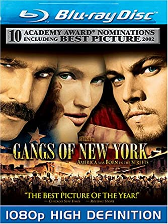 Amazon Com Gangs Of New York Blu Ray Roger Ashton Griffiths Jim