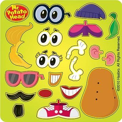 5-Mr Potato Head  Sporty  Stickers Party favors