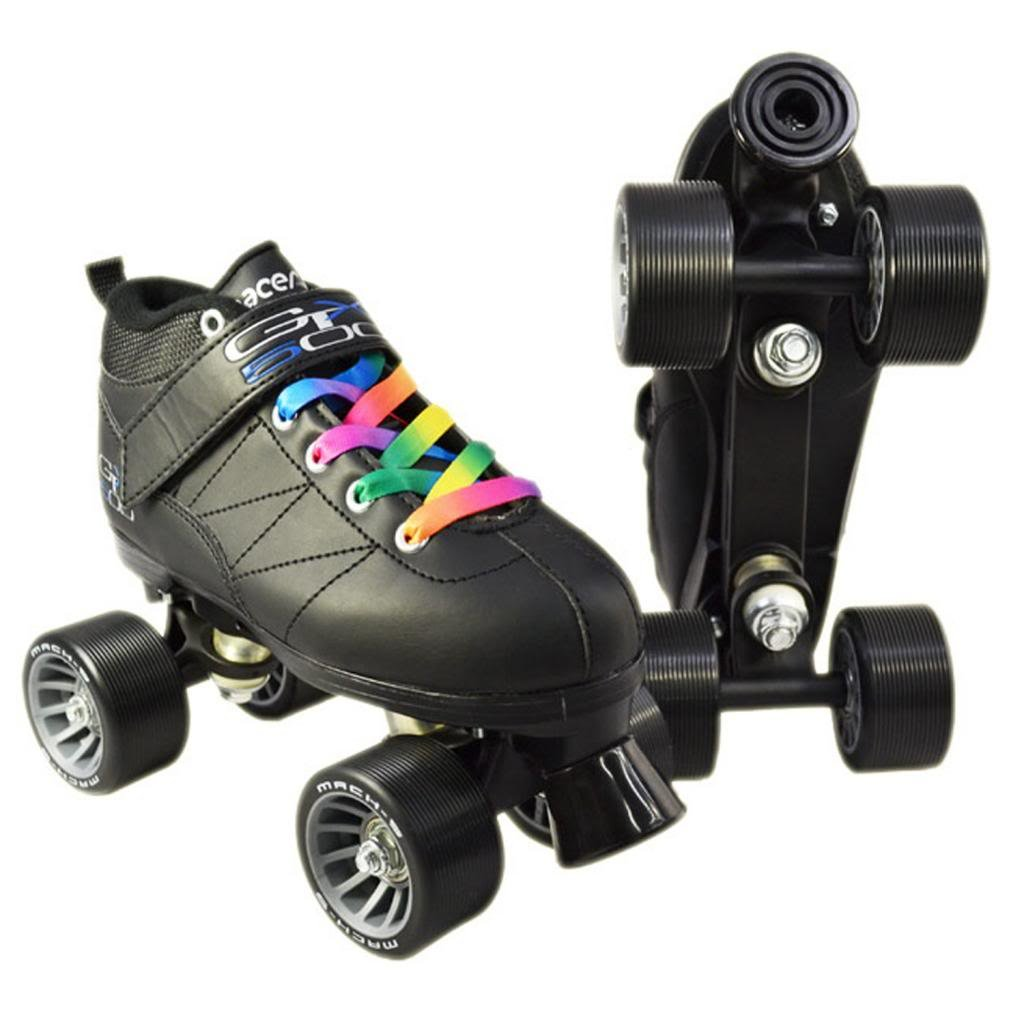 Roller skates for roller derby - Amazon Com Mach5 Gtx 500 Roller Skate Rainbow Laces Sports Outdoors