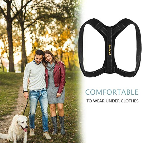 Ambcol Back Posture Corrector for Women and Men, Trains Your Back Muscles to Prevent slouching and Provides Back Pain Relief by Ambcol (Image #6)