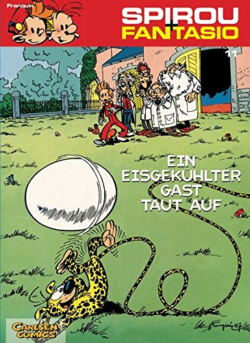 Spirou & Fantasio 11: Ein eisgekühlter Gast taut auf: (Neuedition)