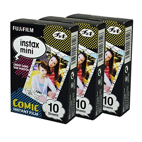Fujifilm Instax Mini Instant Comic 30 Films Fujifilm